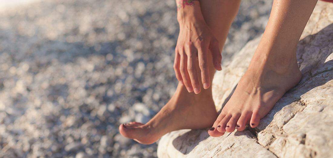 Self-Myofascial Release for the Feet